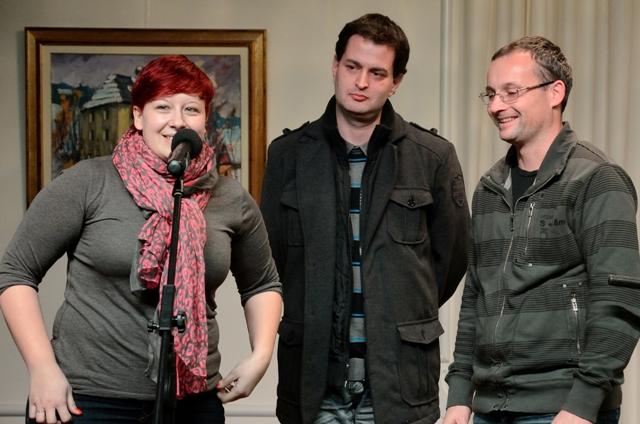 Barbara, David, Robert