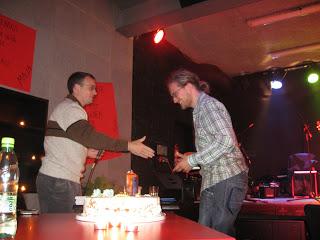 Primož je praznoval rojstni dan
